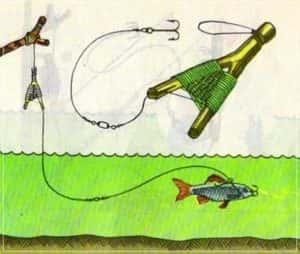 Ловля щуки на самоловную жерлицу