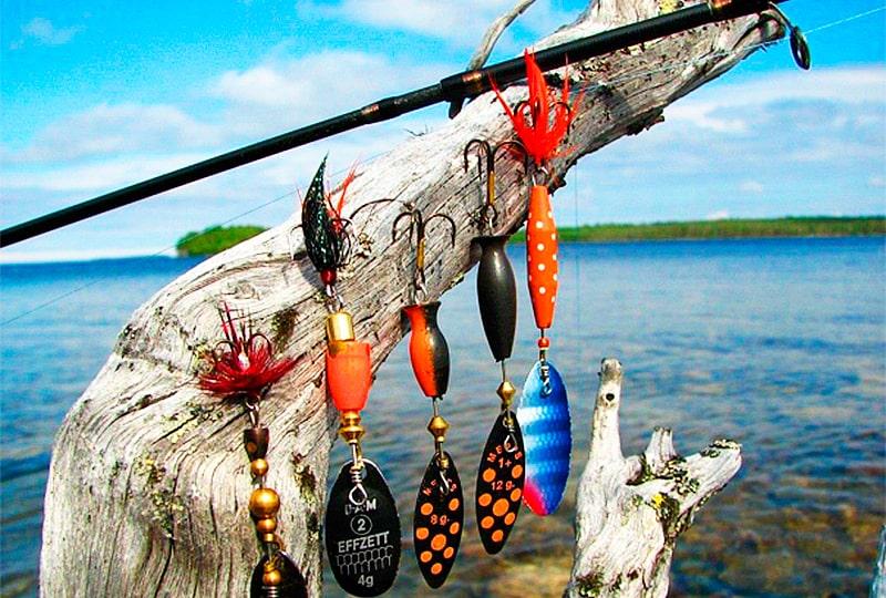 Рыбалка вращающиеся приманки
