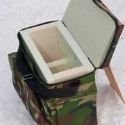 Как сделать пенопластовый ящик для зимней рыбалки