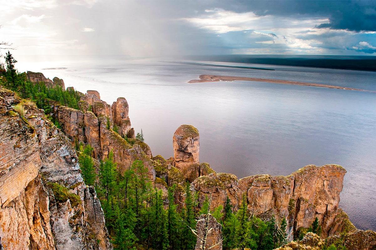 Карта рыболовных мест Республики Якутии