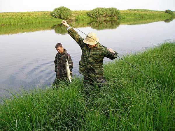 Карта рыболовных мест Астраханской области