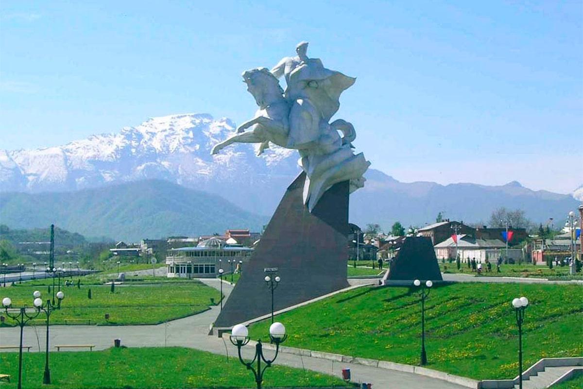 Карта рыболовных мест Республики Северная Осетия