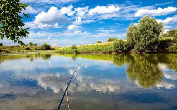 Карта рыболовных мест Курской области