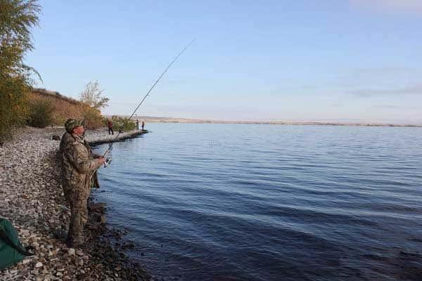 Карта рыболовных мест Оренбургской области