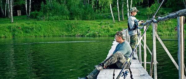 Карта рыболовных мест Орловской области